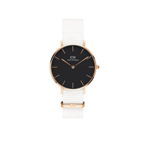 Petite 32mm Dover Rose Gold Black Watch
