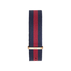 Nato Strap Oxford Rose Gold Watch 20mm Strap