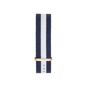 Nato Strap Glasgow Rose Gold Watch 18mm Strap