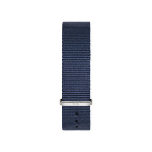 Bayswater 20mm Silver Watch Strap