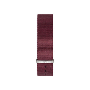 Roselyn 18mm Silver Watch Strap