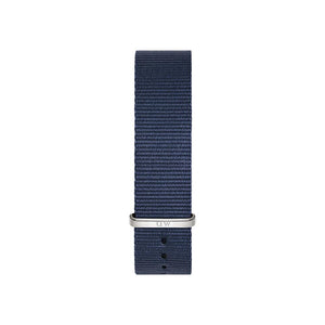 Bayswater 18mm Silver Watch Strap