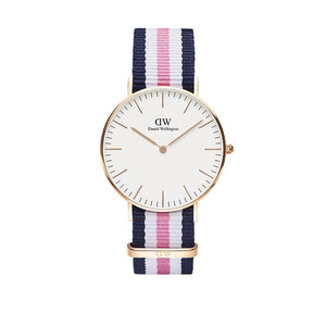Classic 36mm Southampton Rose Gold White Watch