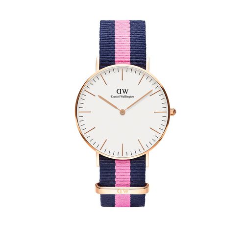 Classic Winchester 36mm Rose Gold White Watch