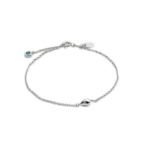 Silver A Drop In The Ocean Bracelet