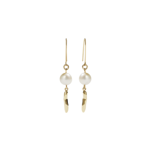 9ct Gold Dune Drop Earrings