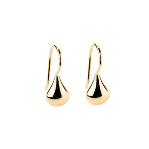 Baby Tears Earring - Yellow Gold Plated