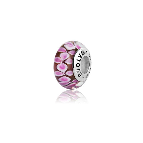 Murano Glass and Silver Twizel Charm
