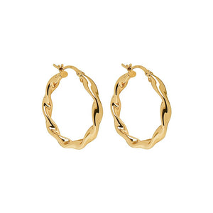 Alicia Earring - Yellow Gold Plated