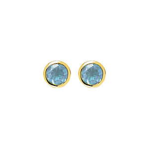 Renown Earring - Blue Topaz