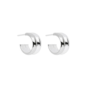Duality Stud Earring - Silver
