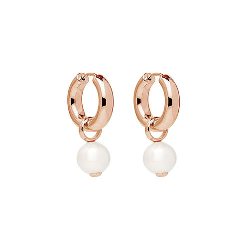 Ms Perla Earring -Rose Gold Plated