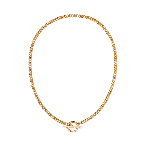 Gold Plated Fob Choker Necklace