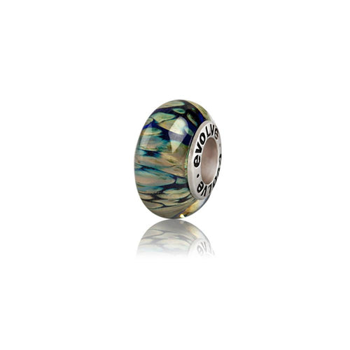 Murano Glass and Silver Stewart Island Charm