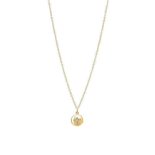 Gold Plated Guiding Star Necklace