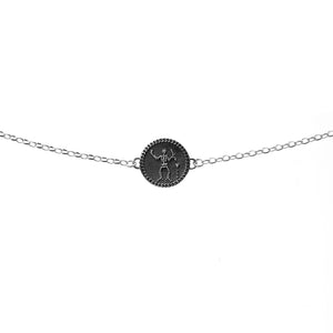 Silver Pirate Bracelet - Slim