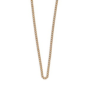 Gold Plated Bespoke Curb Chain