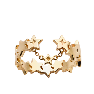 9ct Yellow Gold Supernova Ring