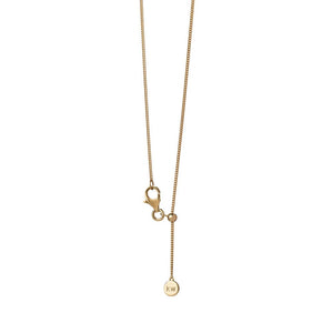 9ct Yellow Gold Mini Horseshoe Necklace