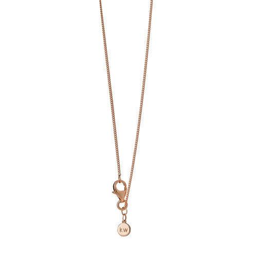 9ct Rose Gold Mini Runaway Girl Necklace