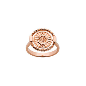 9ct Rose Gold Voyager Spinner Ring