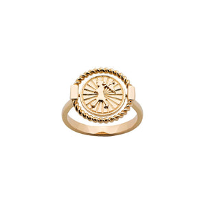 9ct Yellow Gold Voyager Spinner Ring