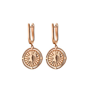 9ct Rose Gold Voyager Earrings