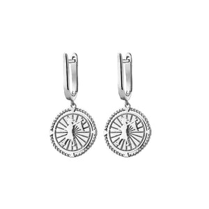Silver Voyager Earrings