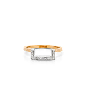 9ct Yellow Gold Europhia Diamond Band
