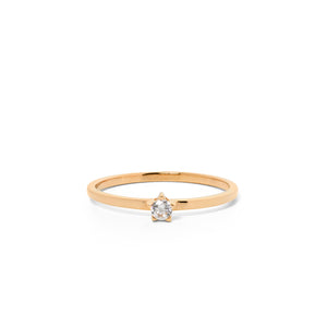 9ct Yellow Gold Forever Diamond Ring