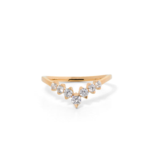 9ct Yellow Gold Paradise Diamond Band