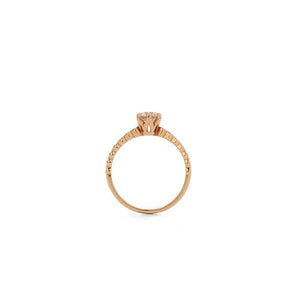 18ct Rose Gold Devotion Ring TDW.64CT