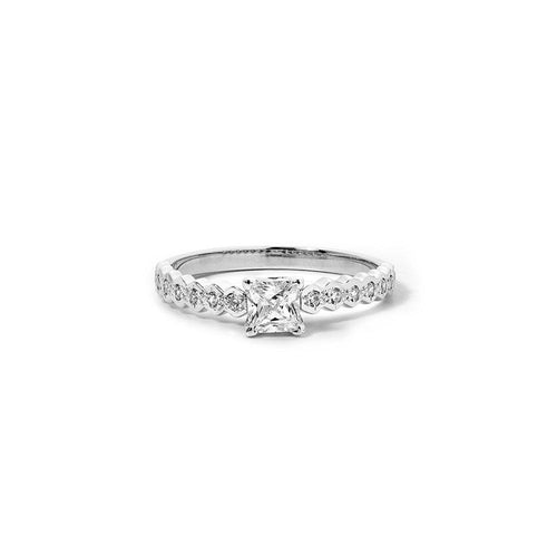 18ct White Gold Adoration Ring TDW approx .64CT