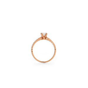 9ct Rose Gold Adoration Ring TDW approx .64CT