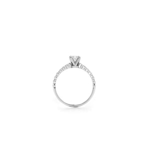 9ct White Gold Adoration Ring TDW .64CT