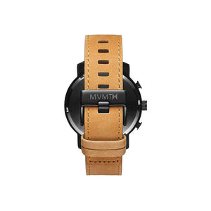 Chrono Tan Leather Men's Watch