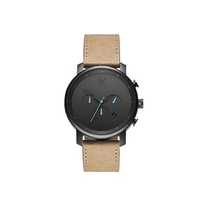 Chrono Sandstone Leather Men's Watch