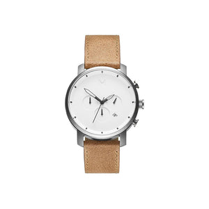 Chrono Caramel Leather Men's Watch