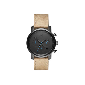 Chrono 40MM Sandstone Leather Men's Watch