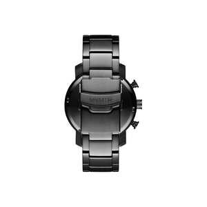 Chrono 40MM Gunmetal Steel Men's Watch