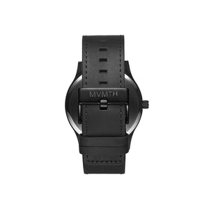 Classic Black Leather Men's Watch
