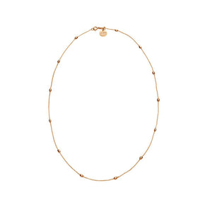 Like A Breeze Necklace - Rose Gold Plated