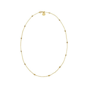 Like A Breeze Necklace - Yellow Gold Plated