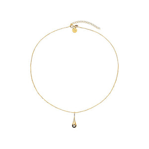 My Silent Tears Necklace - Yellow Gold Plated