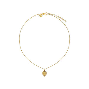 Justinia Necklace - Citrine