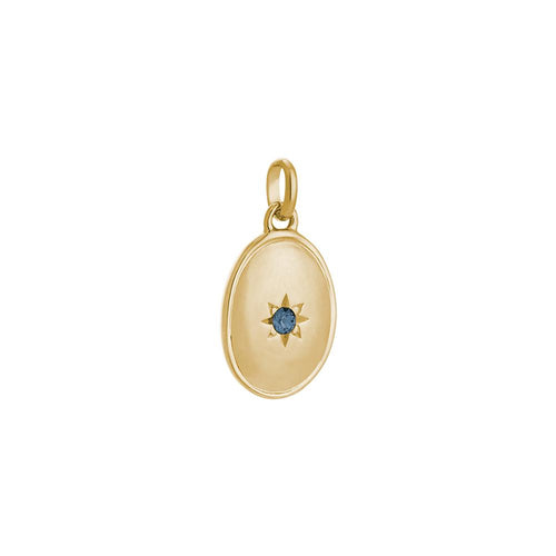 18ct Gold Plated Night Sky Charm