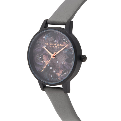 Celestial London Grey & Matte Black Watch