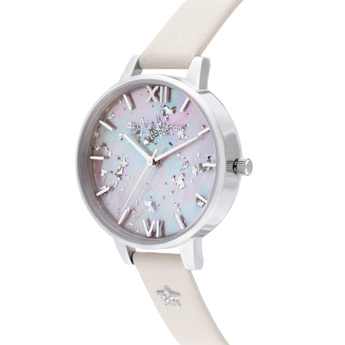 Celestial Star MOP Blush & Silver Watch
