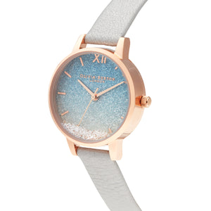 Wishing Wave Glitter RG Watch