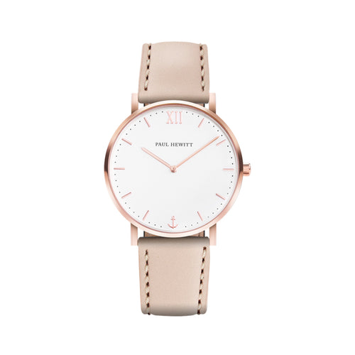 Sailor Rose Gold Tone White Sand 39mm Watch